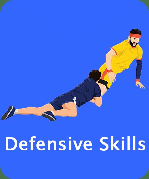 Kabaddi Defensive Skills