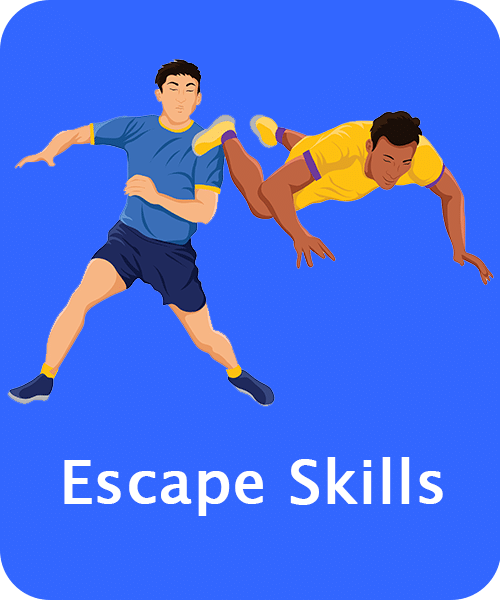 Kabaddi Escape Skills
