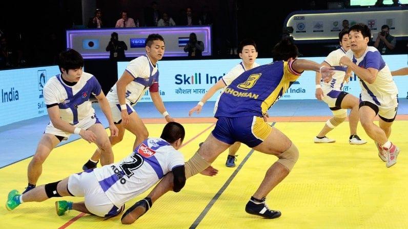 Kabaddi World Cup Match Between Thailand vs Japan