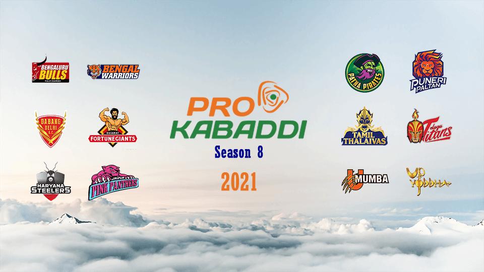 Pro Kabaddi All Team Logos